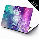 Keep Calm And Dream Big Design Full-Body Protective Plastic Case for 11-inch/13-inch New MacBook Air