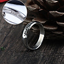 Personalized Gift Jewelry The Lord of the Rings Stainless Steel Engraved Rings