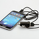 USB Car Charger with EU Plug and Micro USB Cables for Samsung Galaxy S3/4 HTC and Others