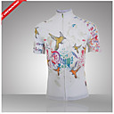 Buy Getmoving®Women's Short Sleeve/Spring Summer Style 100% Polyester Sleeved Cycling Jersey 3D/Cycling