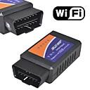 ELM327 wifi trådløs OBD2 OBDII bil auto diagnostisk skanner verktøyet for iphone 6 6 pluss 5s ipad ipod