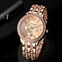 High-end Fashion Business Casual Men's Diamond Steel Quartz Watch