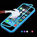 Big D tactile vue TPU& silicone couvercle rabattable pour iPhone 5c (couleurs assorties)