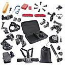 40-en-1 appareil de sport kit d'accessoires pour GoPro Hero 4 / 3+ / 3 / sj4000 / sj5000 / xiaoyi