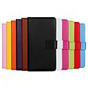 in vera pelle di vibrazione corpo pieno di slot per schede e supporto per il iphone 5 quater (colori assortiti)