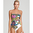 Printing Pattern Sexy Swimsuit With a Chest Pad Whitout Steel Ring