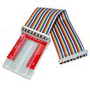 Buy Raspberry Pie 3 GPIO Extended DIY Kit (40P +GPIO V2+400 Rainbow Line Hole Bread Board)