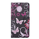 Buy Pink Butterly Pattern PU Leather Full Body Case Stand Card Slot Huawei Ascend Y635