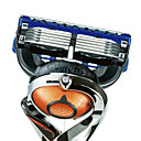 Gillette Fusion Proglide manuell barberblad påfyll for menn, fire count