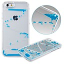 karzea ™ 아이폰 6 (모듬 색상)에 대한 창조적 인 듀얼 레이어 투명 플라스틱 3D 액체 모래 시계 하드 케이스