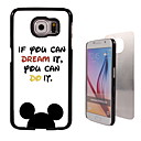 If You Can Dream it Design Aluminum Hard Case for Samsung Galaxy S6