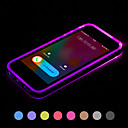Call LED Blink Transparent TPU Back Cover Case For iPhone 6/6S(Assorted Colors)
