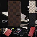 Luxury Quality Stander with Card Bag Flip Case for iPhone 5/5S(Assorted Color)
