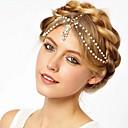White Bead Headbands