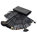 Buy 3Black Professional Cosmetic Brush Kit Makeup Brushes Set Case Make Sets Tool