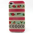 Buy Flowers Pattern TPU Material Soft Phone Case iPhone 4/4S