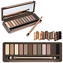 12 Color Crease Eye Shadow 3in1 Matte Shimmer&Glitter Smoky Urban Decay Color with Brush&Mirror