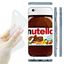 Nut Jam Pattern TPU Soft Back Case for iPhone 6
