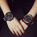 Buy Women's Versatile Leather High-Grade Three Outdoor Sports Wrist Watch Couple's Cool Watches Unique
