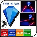Rear Bike Light,YG-016BL 5 Mode Tail Lights/Safety Lights USB 200mAh Other Waterproof Cycling 100M Blue/Red