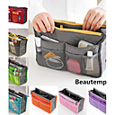 Women's Fashion Casual Multifunctional Mesh Cosmetic Makeup Bag Storage Tote Organizer(7 Color Choose