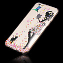 iPhone 6 - Andere - Gemischte Farbe/Cartoon/Transparent/Ultra Slim ( Mehrfarbig , TPU )