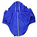 Dog / Cat Rain Coat Red / Black / Blue / Purple Spring/Fall Solid Waterproof