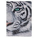 Buy White Tiger Pattern PU Leather Full Body Case Stand Card Slot iPad mini3/iPad mini 2/iPad
