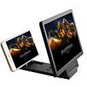 lupa móvel ampliar 3 vezes de tela do telefone móvel suporte de ampliador de telefone celular universal para vídeo filme 3d