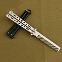 Fashion 56HRC Stainless Steel Knives/Practice Swing Comb EDC Camping Outdoor Multitools
