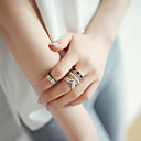 Vintage Alloy 8 Suits Midi  Rings