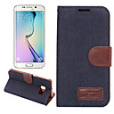Cowboy Wallet Card Slot Stand Flip Leather Case for Samsung Galaxy S6 Edge+/S6 Edge/S6/S5/S4/S5 Mini/S4 Mini/S4 Active
