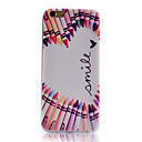 Buy Love Pattern Transparent Soft TPU Material Cell Phone Case iPhone 6
