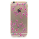 Buy Plum Flower Pattern TPU Cell Phone Soft Shell iPhone 6