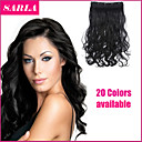 Buy Long Synthetic Straight Clip Hair Extensions 5 Clips