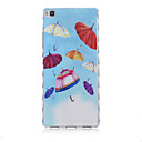 Buy Huawei Case / P8 Lite Pattern Back Cover Cartoon Soft TPU