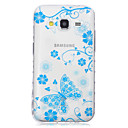 Buy Samsung Galaxy Case Transparent / Pattern Back Cover Butterfly TPU SamsungJ7 J5 J3 J2 J1 Ace Grand Prime
