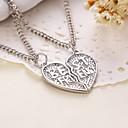 Buy Heart Shape Best Friends Pendant Necklace(2pcs/set)