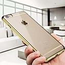 Buy iPhone 6 Case / Plus Plating Transparent Back Cover Solid Color Hard PC 6s Plus/6 6s/6