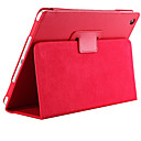 Litchi Soft PU Leather Cover with Auto Sleep Wake Up for iPad Air Magnetic Flip Case
