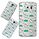 MAYCARI®The Unicorn's Traveling in the Sky Soft Transparent TPU Back Case for Samsung Galaxy S4/S5/S6