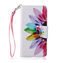 Buy Lanyard Sunflower Petal Flower Pattern PU Leather Material Phone Case Huawei P8 Lite