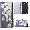 Buy Blooming Flowers Magnetic PU Leather wallet Flip Stand Case cover Huawei Ascend P9