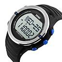 Da uomo Guarda Digitale Orologio sportivoLCD / Calendario / Cronografo / Resistente all'acqua / allarme / Monitoraggio frequenza cardiaca