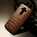 Buy Luxury Retro Crocodile Grain PU Leather+Plating PC Golden Brand Mobile phone Skin Case Cover LG G3/G4