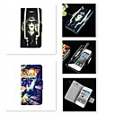 Buy Golden Monkey Tiger Pattern PU Leather Full Body Case iPhone 5/5S