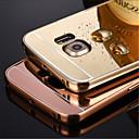 삼성 S3 / S4 / S5 / S6 / S6 가장자리 / S6 에지를위한 금속 알루미늄 합금 프레임 거울 아크릴 플라스틱 백 커버 케이스를 블링 플러스