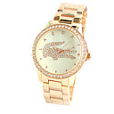 The Crocodile Female Fashion Watches Diamond Shell Dial Luxury Fashion Female Watch Series Fashion Style