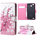 Buy Huawei Case / P9 Card Holder Wallet Stand Flip Full Body Tree Hard PU Leather