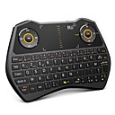 Rii mini i28 2.4 GHz Wireless Air Mouse Voice Keyboard for Laptop, PC, Smart TV (French)